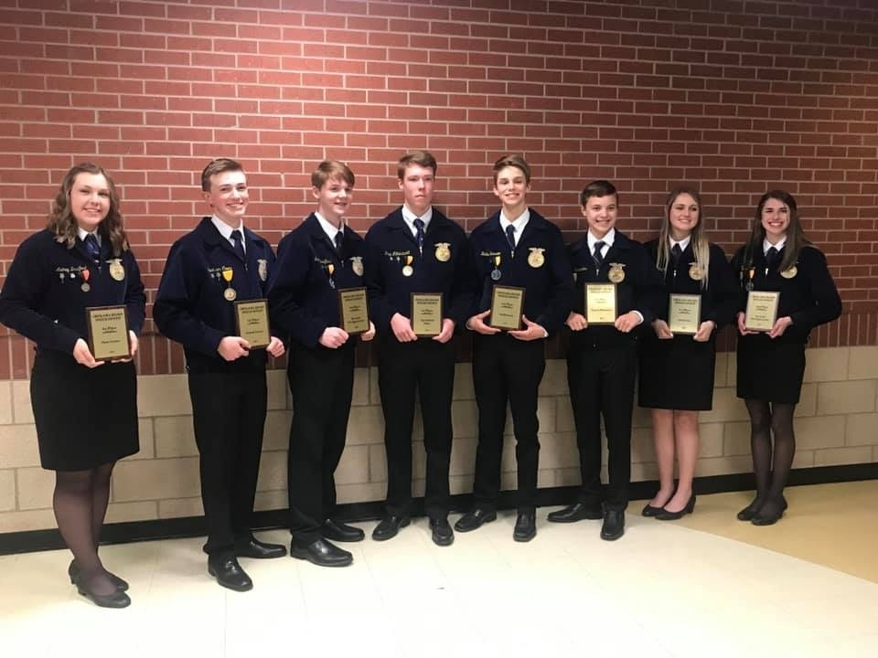 FFA Members Excel in Competition