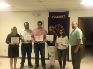 2019 Pocasset Lions Club Scholarship Winners