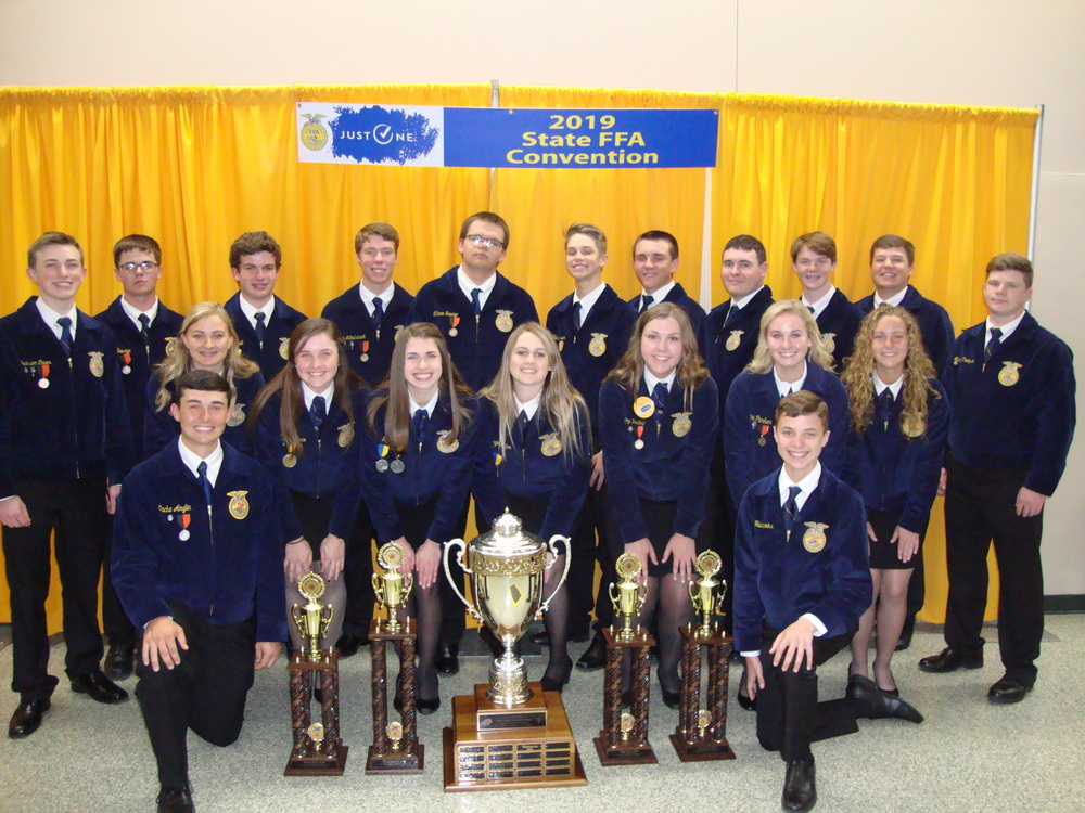 AmPo FFA Wins Sweepstakes